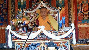 RAOnline Bhutan: Religion - Ceremonies in Bhutan - Thrin