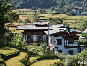 Raonline Bhutan Architecture Bhutanese Houses