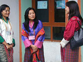 Bhutan Pretty Girls