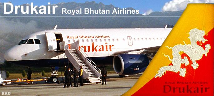 Raonline Bhutan Druk Air Royal Bhutan Airlines Bhutans