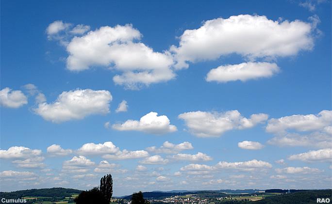 RAOnline EDU: Wetter - Wolken - Wolkenformationen