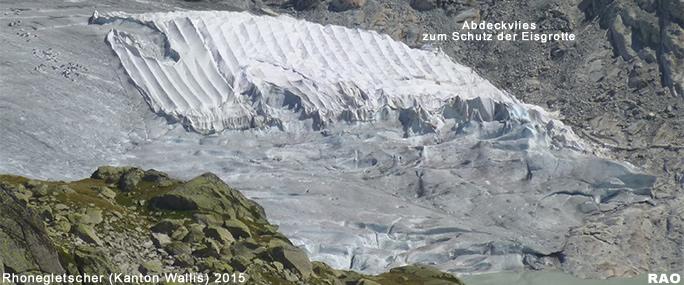 Bildergebnis für gletscher abdecken