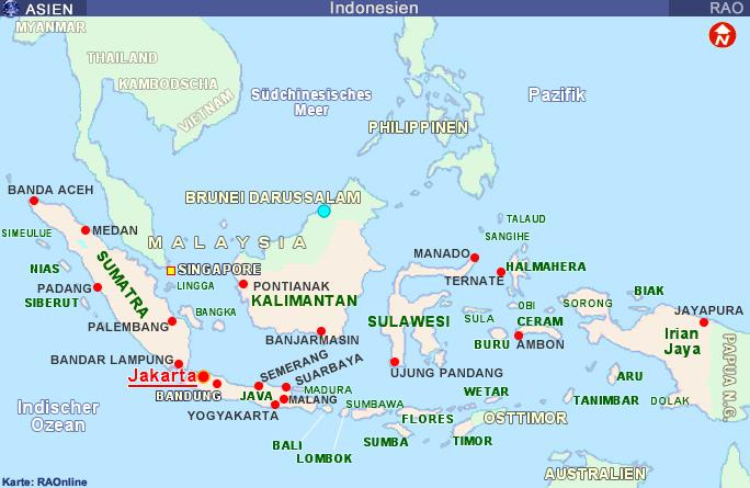 Raonline Edu Geografie L 228 Nderinformationen Asien Indonesien Karten Borneo Kalimantan