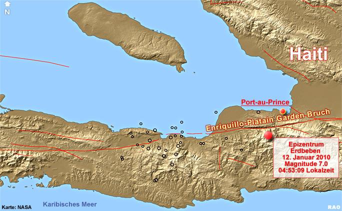 Haiti Karte.Raonline Edu Erdbeben Tektonische Karten Bruchsystem In Haiti
