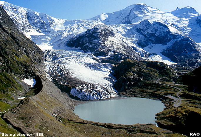Raonline edu gletscher schweiz steingletscher am