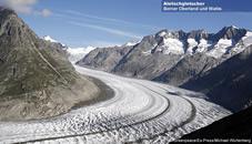 Aletsch glacier, Switzerland von Spencer Tunick auf artnet