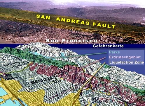 Raonline Edu Erdbeben Kalifornien San Andreas Verwerfung
