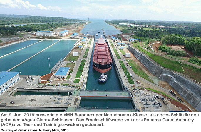 RAOnline EDU: Wasserstrassen - Panamakanal (Panama)