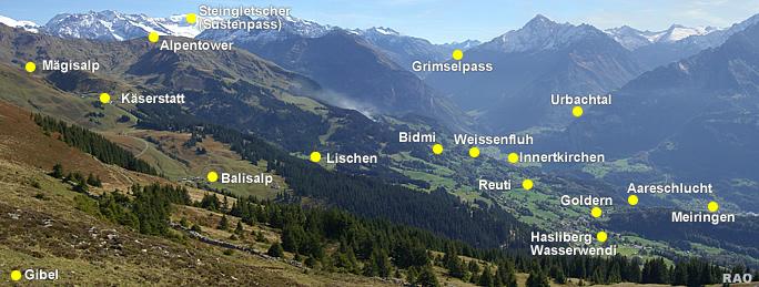 RAOnline Schweiz: Wandern - Tipps - Region Meiringen ...